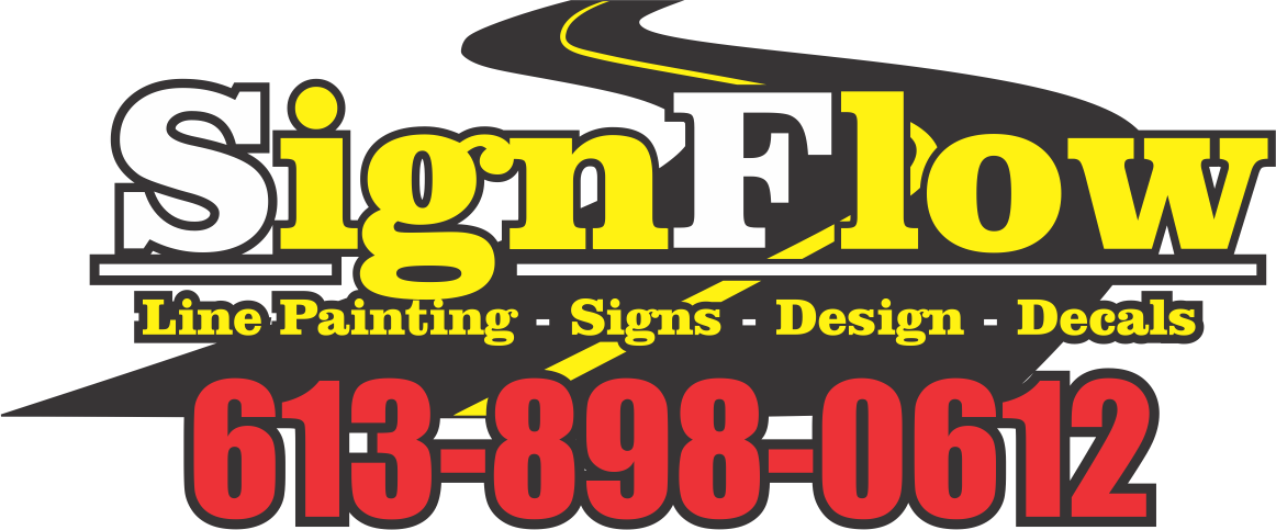 Ottawa Line Painting | SignFlow Pavement Markings Specialist